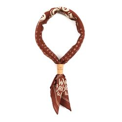 SQ BANDANA (red brown)