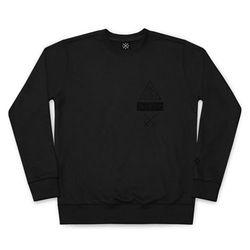 [HDCR] TRIANGLE 47-01 BLBM (BLACK맨투맨티셔츠)