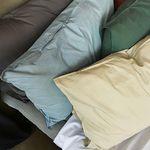 dense cotton 70x50 pillow case