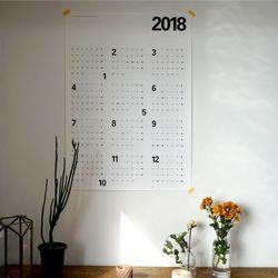 2018 포스터달력