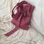 neat.A Belt Eco Bag .Indipink -니트에이 벨트에코백