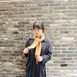 라템 납짝쿵 미니 니트 목도리 (6colors)