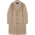 RF3B OVERSIZED WOOL COAT BEIGE
