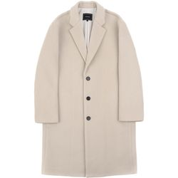 RF3B OVERSIZED WOOL COAT L.BEIGE