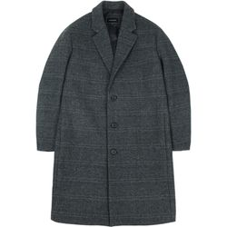 RF3B OVERSIZED WOOL COAT GRAY