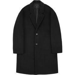 RFSB.OVERSIZED WOOL COAT BLACK