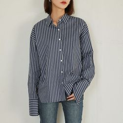 [로코식스] cuffs stripe shirts셔츠