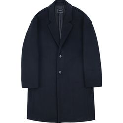 RFSB.OVERSIZED WOOL COAT NAVY