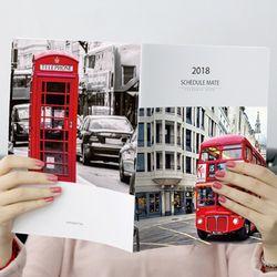 2018 스케줄메이트 포토캘린더노트-마이유럽