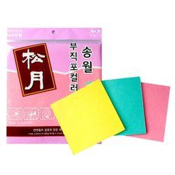 부직포 컬러행주(3매입) 주방타월 업소행주