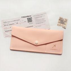 소프트 여권케이스 L Pink