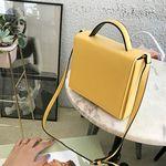 [엔비 니즈백] 미니박스백 PU가방
