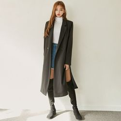 [로코식스] mannish long jacket자켓