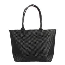 M LUNA SHOULDER BAG - BLACK