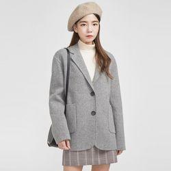minimal handmade jacket