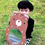 어썸프렌즈 벽거울 (곰.단품) 아크릴거울