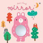 어썸프렌즈 벽거울(토끼+데코세트)아크릴거울