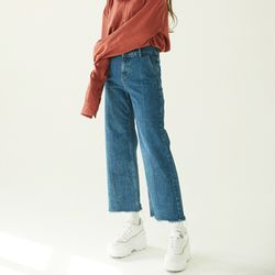 Retro High-Rise Wide Jeans (여성용)