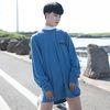 39cosmian Long Sleeve  blue