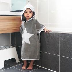 일공팔랩[108LAB] 키즈바스로브 아동 목욕가운