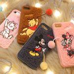 디즈니 폼폼에디션 아이폰8 7 소프트 케이스