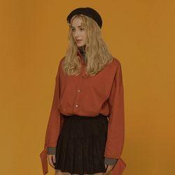 label shirt  [ orange ]