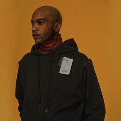 pin hoody [ black ]