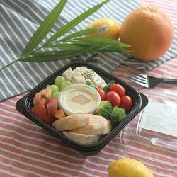 닭가슴살과 자몽 그린믹스 샐러드 (145kcal)