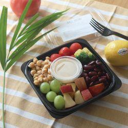 병아리콩과 강낭콩 그린믹스 샐러드 (188kcal)