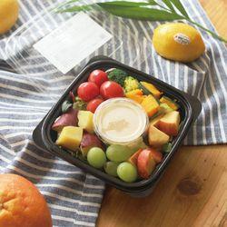 고구마와 단호박 그린믹스 샐러드 (132kcal)