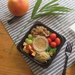불고기와 숙주나물 어린잎 샐러드 (209kcal)