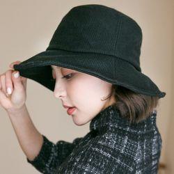 모직 와이어 버킷햇 벙거지 모자
