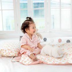 코니테일 사계절 낮잠이불 - 피치 (어린이집일체형)