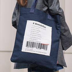 DOWNSHIFTER ECO BAG - NAVY