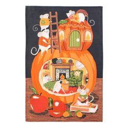 호박(Cosy pumpkin) 면 티타올(UK)