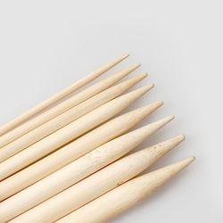 대나무 줄바늘 (40cm) - 모자 목둘레용