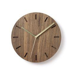 월넛베이직벽시계