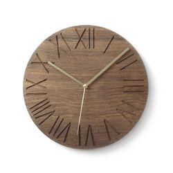 월넛로만벽시계