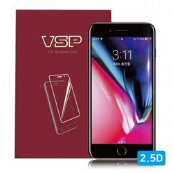 뷰에스피 아이폰8 2.5D 풀커버 강화유리 블랙