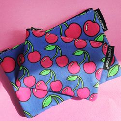 cherry pink pouch s