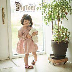 [빅토우즈]우리 아이 첫 걸음마 신발 - 슬리핑캣 핑크