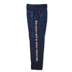 BSRABBIT BSR CHECK TRACKPANTS GREEN