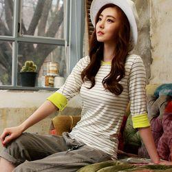[MAYCATS]Stripe T-Shirts