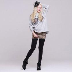 [MAYCATS]Leopard Skirt Leggings