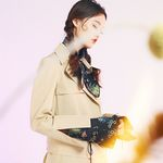 The Lover oversize ring trench coat