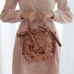Mimi Velvet Ribbon Tote Bag
