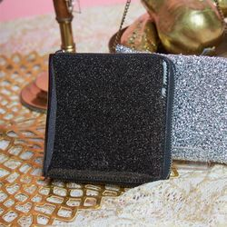 Glitter Wallet (Black)