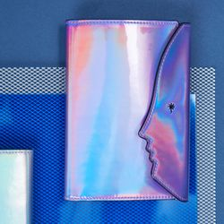 Hologram Passport Case (Purple)