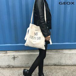 [GEOX] 럭키 에코백 아이보리