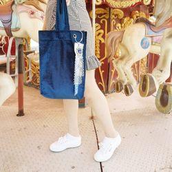[라템] 벨벳 와이드 핸들 미니백가방